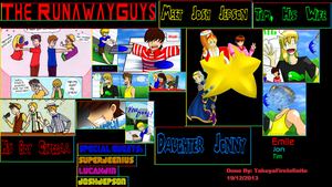 The RunawayGuys Collage: The Whole Gang by TakuyaFireInfinite