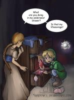 Link gone bad by Shadowcy