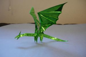 Simple Dragon by origami-artist-galen