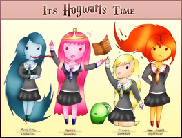 It's Hogwarts Time! by PiichixChan