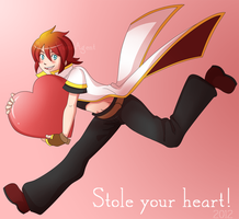 Stole your heart by MonochromeAgent
