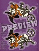 Halloween Witch Kitty Cut Out Decor Download by helloheath