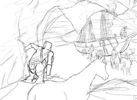 Lineart do Assassin's Creed by havoqc
