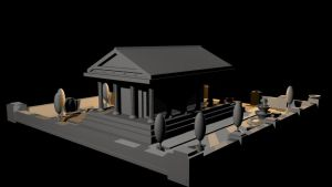 Greek Temple Final - View 4 by mhofever