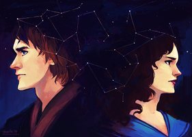 star wars - notes in constellations by shorelle