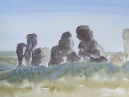 The stones by meeart