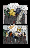 Naruto: Akatsuki's Four-Tails by IrregularChild