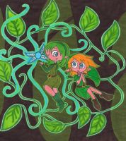 OoT: Saria's Song by LindsayLatte