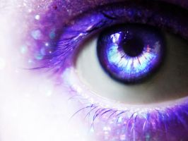 Eye of galaxy by MisticLight3