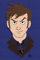10th Doctor by tee-kyrin