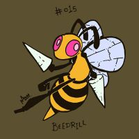 015 Beedrill by toadcroaker