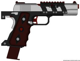 Sheild Corp Firearms Omega Defender 1911 pistol by HuntraG94