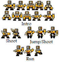 Bond Man  Fan Sprite Sheet by hfbn2