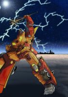 Art for Rodimus Prime by Clu-art
