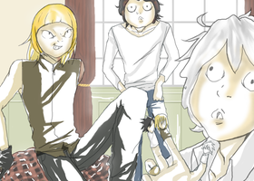you REALLY need a girl, Near.. by MischiefSister