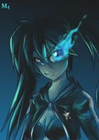 Quick Draw: Black Rock Shooter by Marini4