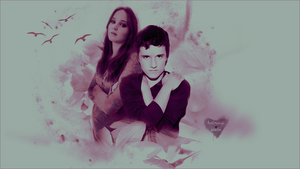 Katniss + Peeta - I heart you by ParalyzingLove