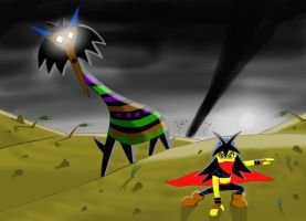 Creature of the dust devil by TreasureMan