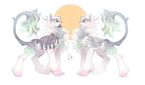 Ramuken Auction: Mistletoe Frost (Closed) by faios