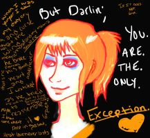 you are the only exception by poncoyo