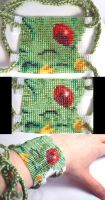Smiling Carbuncle Bracelet by wickedorin