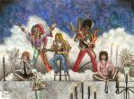 Martyrs of Rock: The 27 Club by Fernoll