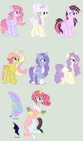 MLP Adopt: Guess the (Fluttershy)Ship! -CLOSED- by ChopstickGirl241