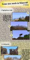 Seeds in Minecraft by oldiblogg