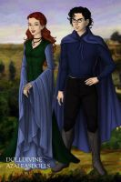 Lily and James Potter by Kailie2122
