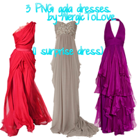 Pack vestidos. by AlergicToLove