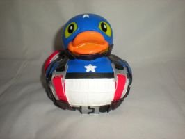 New Captain America Rubber Duck by Oriana-X-Myst