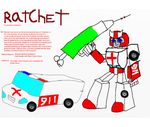 TF Infinity: Ratchet by InvaderToum