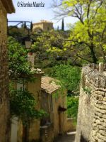 Gordes, France by Tanaaelle
