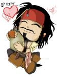 -CHIBI- Jack Sparrow by InvisibleRainArt