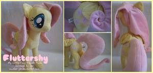 MLP FiM Fluttershy Plush by sugarstitch