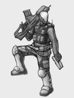Soldier...dude...person...guy by xashe