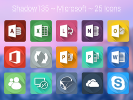 Shadow135 ~ Microsoft Icons by BlackVariant