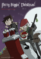 Merry Friggin' Christmas by SecretAgentFifi