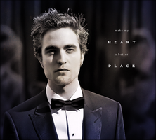 Robert Pattinson by IllicitWriter