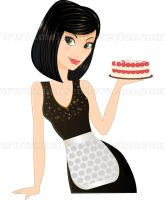 Pastry Chef by Melisendevector