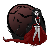Marceline, the Vampire Queen (speed drawing) by Nyamas