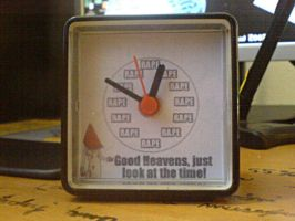 My Awesome Clock by Fehnsin