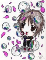 Aiji with Bubbles by elrickousuke54