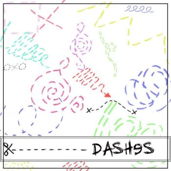 Dashed Brushes by Red--Roses