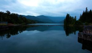 Stave Lake Early Morning by bcdirector
