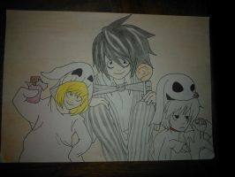 Death Note- HALLOWEEN TIME! :D by Simsata