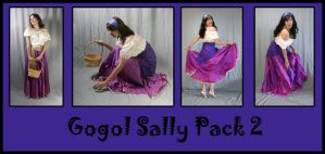 Gogol Sally Pack 2 by LongStock