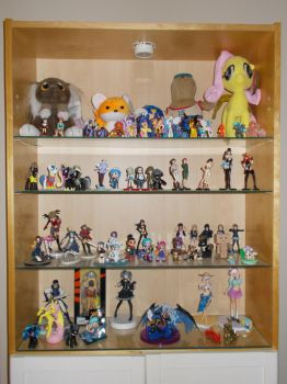 Behold my figurine display by Rift120