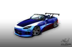 Modified Honda S2000 by hoodaya