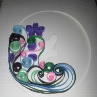 Quilling -  wave by screaminmimi79